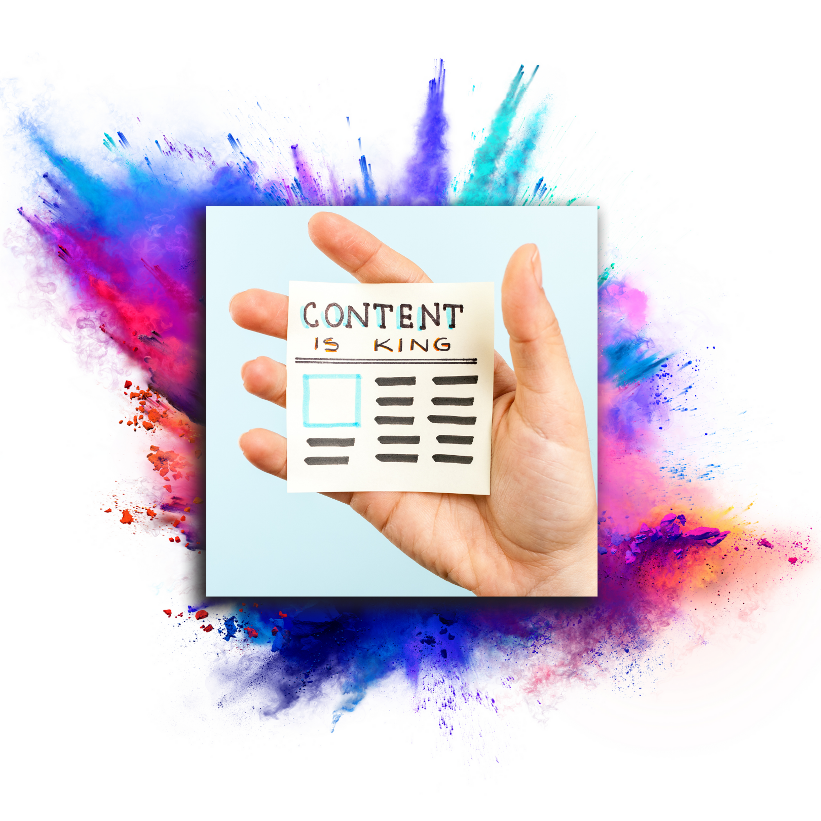 content generation page image